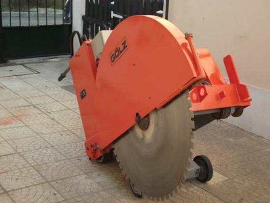Democorte Serra de pavimento